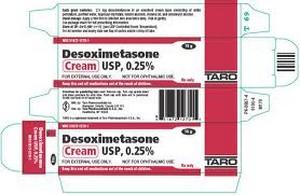 Desoximetasone Cream Usp 0.25