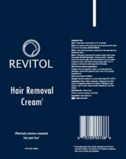 revitol the best hair removal cream for men